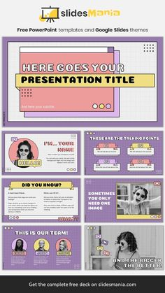 Felicia, marketing presentation template.