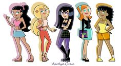 Do you remember that time when I drew all the girls from DP? I wanted to do it again, but this time they're a few years older and in the original style Danny Phantom  Cartoon Icons, Cartoon Art, Cartoon Characters, Danny Phantom Girl, Danny Phantom Valerie, Fantasma Danny, Ghost Boy, Cartoon Profile Pictures, Old Cartoons