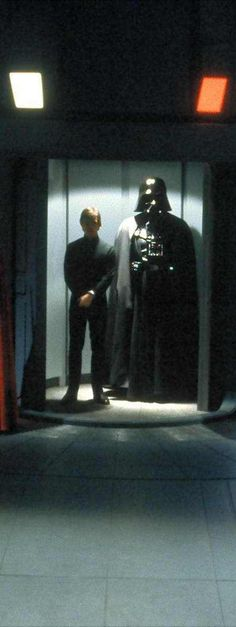 Luke Skywalker and Darth Vader - Star Wars
