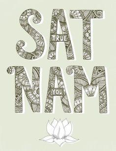 Kundalini Yoga mantra: Sat Nam (True You). Yoga Kundalini, Pranayama, Yoga Meditation, Breathing Meditation, Kundalini Mantra, Meditation Space, Yoga Mantras, Yoga Quotes, Yoga Inspiration