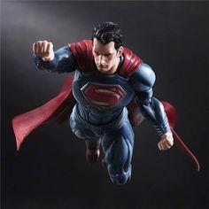 Play Arts Kai Batman v Superman Dawn of Justice Super Man Action Figure High Superman Action Figure, Action Comics 1, Dc Comics, Superman Characters, Superhero Superman, Comic Book Heroes, Comic Books, Superman Dawn Of Justice, Dc Anime