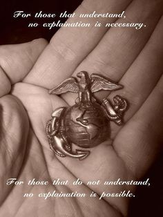My son gave me his EGA after the Crucible, what he had worked so hard to earn along with the title of United States Marine. I cried like a baby.
