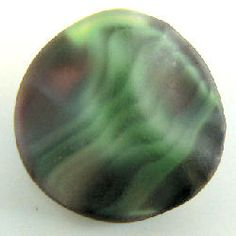 Frosted matte stripes, black glass moonglow button. (17.5mm).