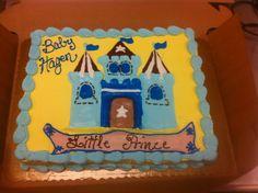 Baby shower cake #lilprince