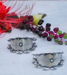 Made to Order: Pucker Hoops Lightweight Studded by RosyRevolver