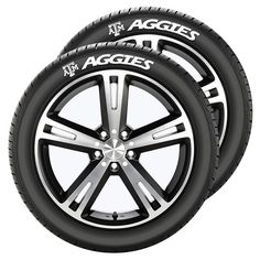 Texas A&M Aggies Tire Tatz, Multicolor