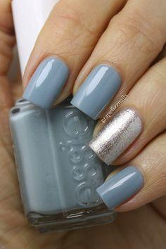 Essie Parka Perfect - grape fizz nails