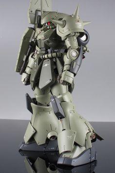 Master Grade MG 1/100 RMS-108 Marasai - Custom Build by Ryugo