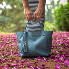 Tote Ankara Azul, Dervish Bags. www.dervishbags.com.br