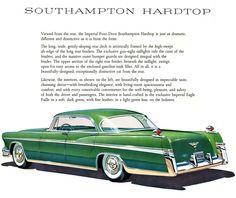 1956 Imperial Four Door Southampton Hardtop