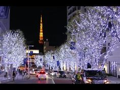 TOKYO Christmas 東京クリスマスイルミネーション Tokyo's Best Streets Christmas Lights 東京...