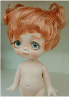 Tutu Doll Wigs, Bjd Dolls, High Quality Wigs, Curly Wigs, Ball Jointed Dolls, Cute Gifts, Tutu, Hand Painted, Poses