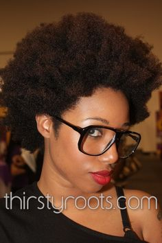 Growing Natural Hair Out | thirstyroots.com: Black Hairstyles and Hair Care