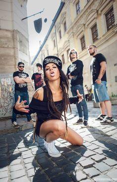 Tatiana Shmaylyuk (Jinjer) Nu Metal, Metal Girl, Women Of Rock, Kinds Of Music, Music Is Life, Thrash Metal, Progressive Rock, Death Metal, Metal Bands