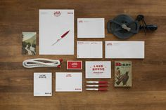 Lake House - hotel brand identity by Tag Collective.