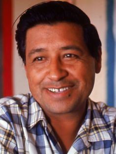 Union leader and labor organizer Cesar Chavez dedicated his life to improving treatment, pay and working conditions for farm workers. Cesar Chavez Day, Chicano Studies, Famous Hispanics, Campaign Slogans, America Ferrera, Hunger Strike, Hispanic Heritage Month, Robert Kennedy, Culture