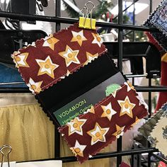Soft and stylish wallets by Yodamoon in in Holiday Hall. Holiday Market, Stocking Stuffers, Christmas Stockings, Wallets, Stylish, Holiday Decor, Home Decor, Needlepoint Christmas Stockings, Decoration Home