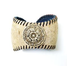 LOVE THIS!!! Baseball Bracelet / Repurposed / Recycled by junkinthetrunkstudio, $32.00