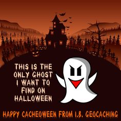 Happy Cacheoween! Find Halloween themed #geocaching items at @IBGeocaching. #IBGCp