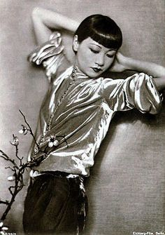 Anna May Wong (1905-1961) was the first Chinese-American movie star, and the first Asian-American to become an international star. Her long and varied career spanned both silent and sound film, television, stage, and radio.