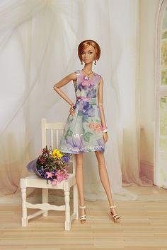 poppyparker | The dress is handmade by me. | YOKO*DOLLS | Flickr