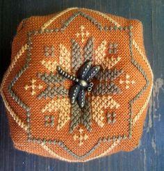 Biscornu pin cushion