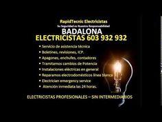 Electricistas BADALONA 603 932 932 Baratos