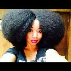 #BigHairDontCare! Photo taken from the 4 Us Naturals Facebook Page. #naturalista #naturalhair #afro #flyfro
