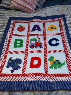 Handmade Baby Quilts | baby quilt/playmat: £35.00