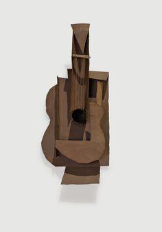 Picasso, guitare (1912)