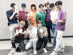 NCT being exo fanboys Winwin, Taeyong, Jaehyun, K Pop, Nct 127, Dot Day, Exo Concert, Jung Woo, Ji Sung