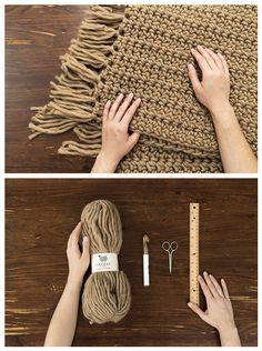 Gazzal Pure Wool'dan battaniye :)