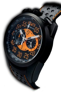 Bomberg 1968 Ø44 NS44CHPBA.BA0.1.LBA Stainless steel and screwed down case, crystal mineral glass with anti-reflective coating, metal dial black wit...