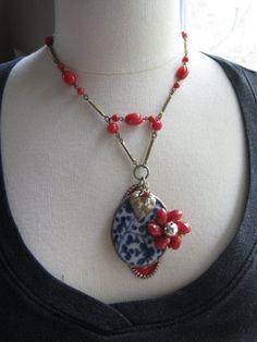 Vintage Necklace Statement Necklace by JenniferJonesJewelry
