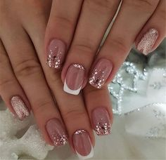 96 Lovely Spring Square Nail Art Ideas - - summcoco gives you inspiration for the women fashion trends you want. Thinking about a new looks or lifestyle? This is your ultimate resource to get the hottest trends. Glam Nails, Cute Nails, Pretty Nails, My Nails, Gold Gel Nails, Nail Pink, Square Acrylic Nails, Acrylic Nail Designs, Nail Art Designs