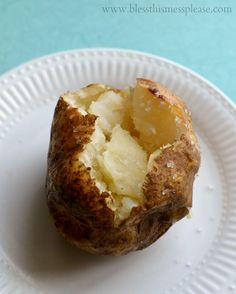 The secret to the perfect baked potato from www.blessthismessplease.com