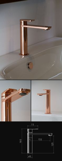 Copper Basin Mixer (35AA) 390 pounds