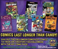 Mini-Comics Offering Alternative To Candy As Halloween Treat