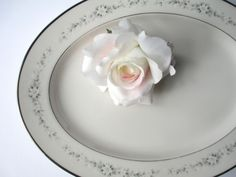Vintage Noritake Ivory Heather Oval Serving by thechinagirl