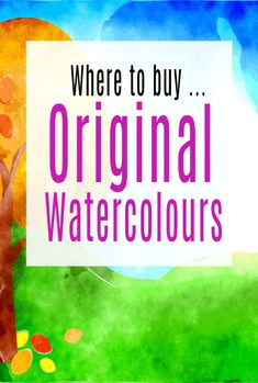 Where to Buy Original Watercolours - buying art has never been easier and can be a great investment as well as a chance to decorate your home in a way you love. Great wallart can make such a differecne to your home decor Decorating Tips, Decorating Your Home, Beautiful Space, Beautiful Homes, Simple House, Beautiful Interiors, Lovers Art, Watercolor, Wall Art