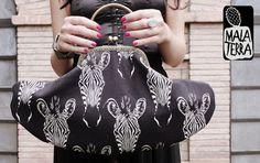 Borsa+Vintage+Zebre+di+Malaterra+su+DaWanda.com