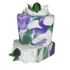 Blackberry Sage Soap Recipe @naturesgarden, #makingsoap, #blackberrysagesoap, #howtomakesoap