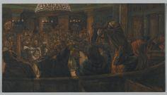 The Torn Cloak--Jesus Condemned to Death by the Jews (Le manteau déchiré. Jésus condamné à mort par les Juifs.) : James Tissot : Free Download & Streaming : Internet Archive