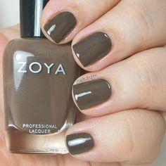 "Zoya Naturel Deux Collection: Emilia: ""dark chocolate cream"""
