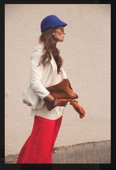 Don't just dream, start walking. LOVE this hat.  photo and styling by: Summer Wilson model: Melissa Edwards
