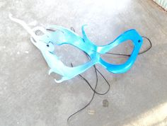 Hey, I found this really awesome Etsy listing at https://www.etsy.com/listing/189486190/blue-fantasy-wind-leather-mask