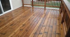 "Deck Stain Coloring Ideas — Deco Home Decor from ""How to Change the Deck Stain… - Modern Staining Wood Fence, Wood Deck Stain, Best Deck Stain, Exterior Wood Stain, Fence Stain, Lowes Deck Stain, Interior Wood Stain Colors, Deck Stain Colors, Deck Colors"