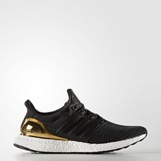 Official adidas images of the upcoming Gold Medal Ultra Boost from the Olympic Medals pack releasing in August.