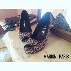 Escarpins bourgeois léopards