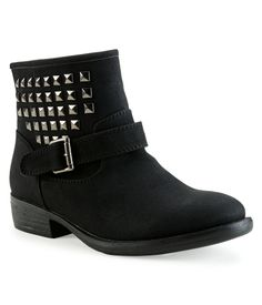 Studded Moto Bootie - Aeropostale  Alas i can only hope for these to go on sale!!